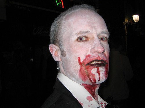 Pic of me as vampire.