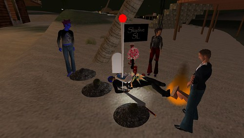My Funeral in Second Life (Dry-run)