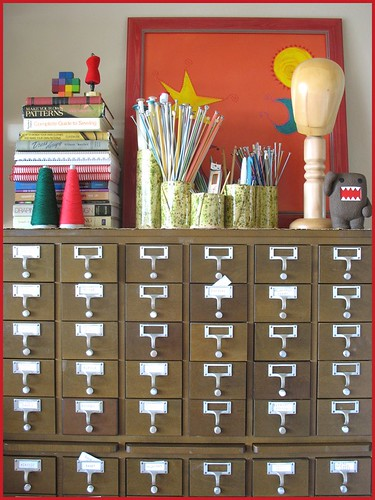 top o' the card catalog