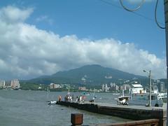 View of Danshui from Bali township