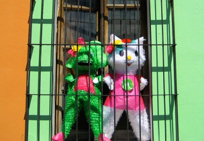 Piñatas Encarcelados