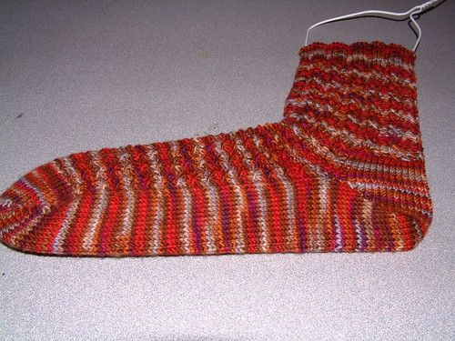 Rooster Rock sock 1