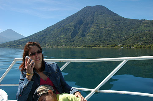 Lago Atitlan - 04 Technology in Atitlan