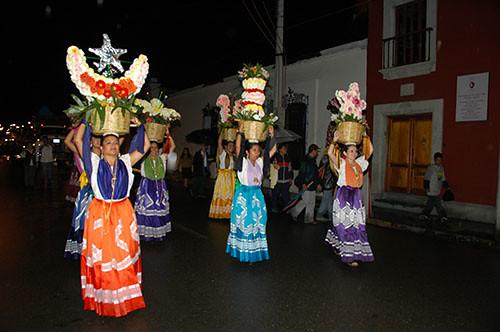 Oaxaca - 02 Oaxacan nightly ceremony