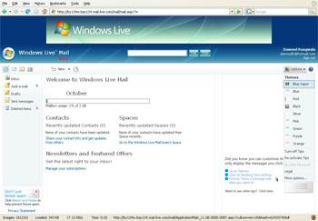 Windows Live Mail Beta M8