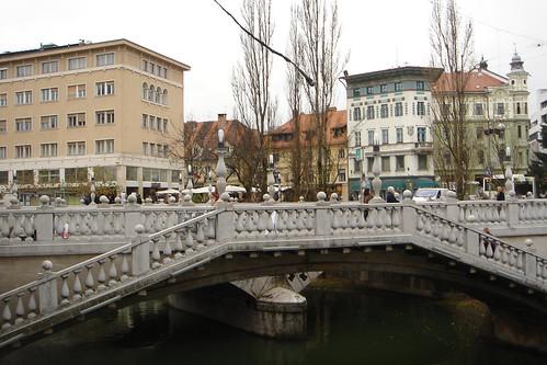 Triple Bridge, Ljubljana.
