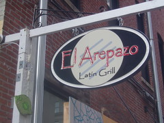 Arepazo sign