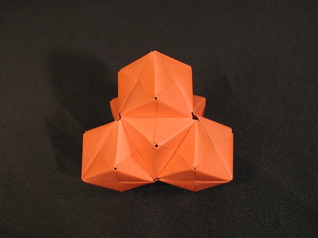 Origami Polyhedrons Embroidery Amp Origami