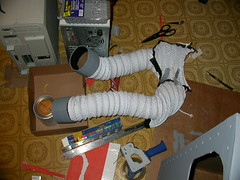 Robot costume - arms