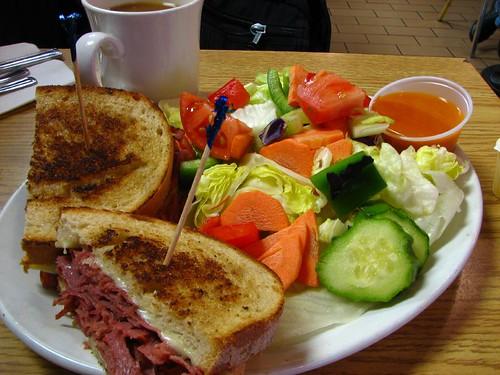 Sometimes a sandwich is just a sandwich