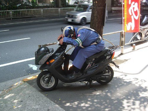 Motorista dormido