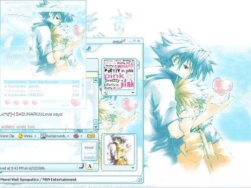 SasuNaru By Your Side by Kaze Hime