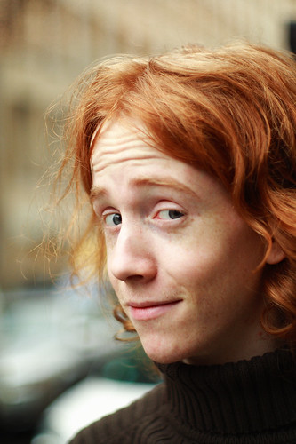[Portrait photo of redheaded Sunny Ripert]