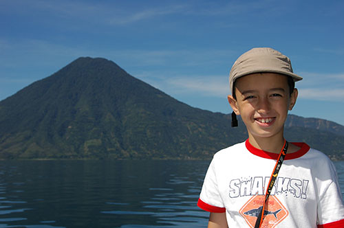 Lago Atitlan - 02 Volcan San Pedro