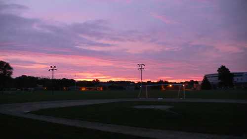Sunrise in Duxbury, Massachusetts