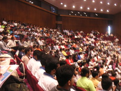 Audience for Keynote by Suparna Bhattacharya