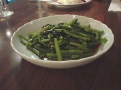 [吃] 晶湯匙_蝦醬空心菜