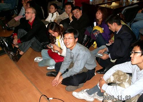 Ones sit on floor