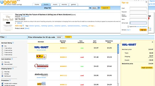 Ugenie's US-only website