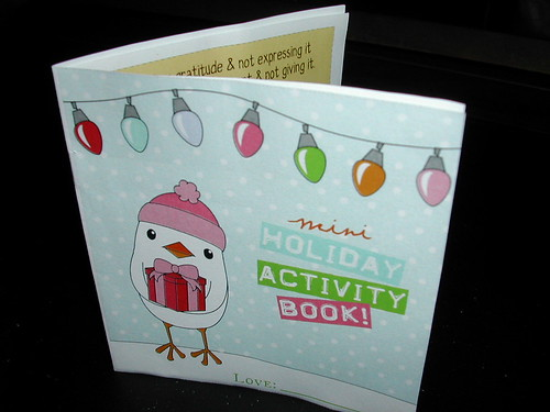 Mini Holiday Activity Book
