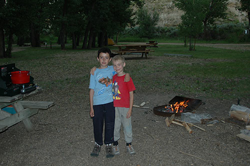 Dinosaur Park - Nadav and Steven
