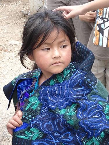 Zinacantan - 07 Girl in Tradiotional Dress