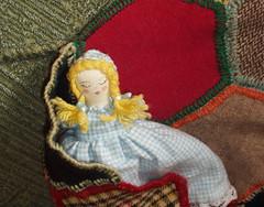 Opal's new doll, sleepy side