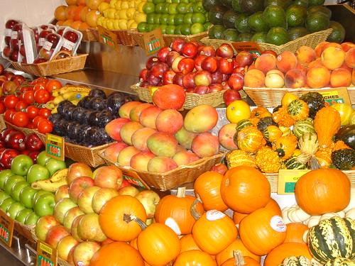 Frutas en el Grand Central Market
