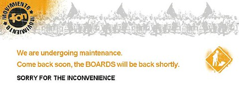 fon board out of order