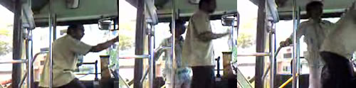 Indian punches Malay bus driver in Singapore?