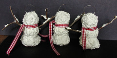 Sammie Snowmen Ornaments -Back