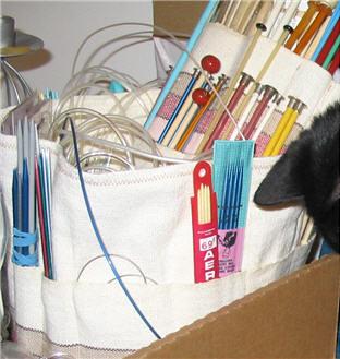 Étui d'aiguilles à tricoter - Knitting Needles Holder