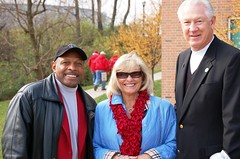 Archie Griffin with John Havlicek and his wife