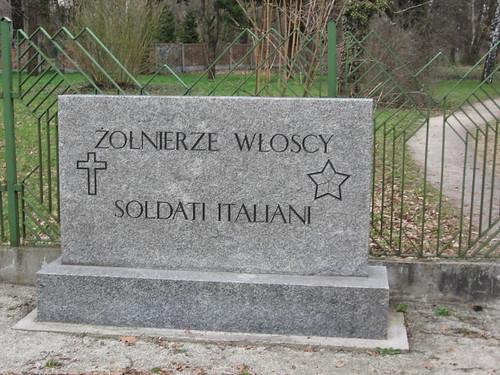 Cmentarz żołnierzy włoskich (I)