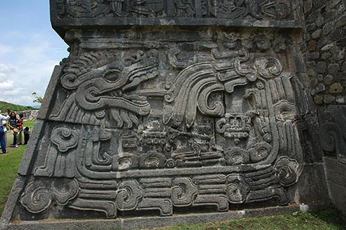 Xochilcalco - 14 Plumed Serpent