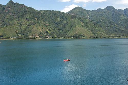 Lago Atitlan San Pedro - 08 Lake view from San Pedro