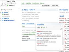 Web interface for Google Talk