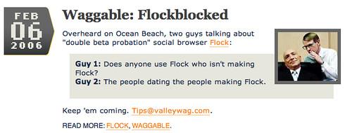 Flockblocked
