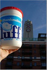 Fluff and the Oxo Tower