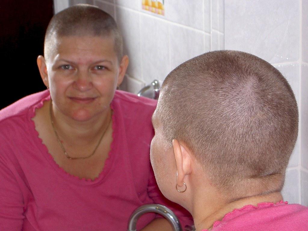 fundraising head shave