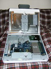 iMac G5 Opened Up
