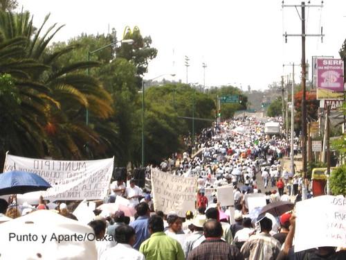 oaxaca mexico protest