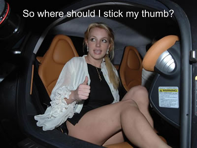 Britney spears upskirt bald