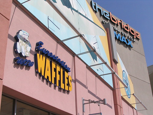 The Waffle Station at the Howard Hughes Center