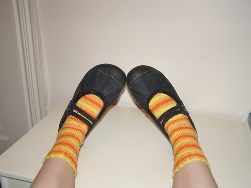 Modeling the Candy Corn Socks