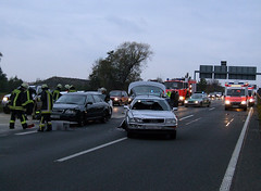 Verkehrsunfall A66 05.11.2006