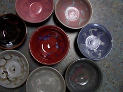 Multicolored Bowl Set