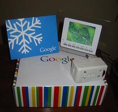 Weihnachtsgeschenk von Google