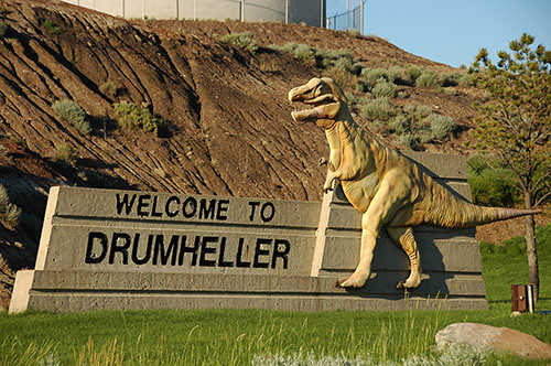 Drumheller - City Entrance