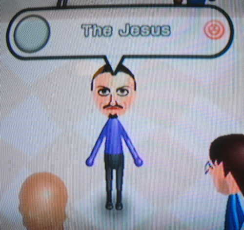 The Jesus Mii